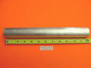1 1 2 Aluminum 6061 Round Rod 12 Long Solid T6511 New Extruded Lathe Bar Stock