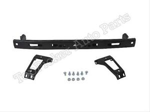 99 07 Silverado 2500hd 3500 Rear Bumper Hitch Reinforce Bar Out Brace Bracket