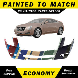 New Painted To Match Front Bumper Cover Replacement For 2008 2014 Cadillac Cts