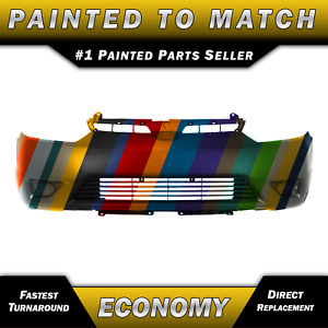 New Painted To Match Front Bumper Cover For 2006 2007 2008 Honda Civic Coupe