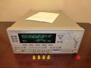 Agilent Hp 83623b Synthesized Sweep Signal Generator Calibrated