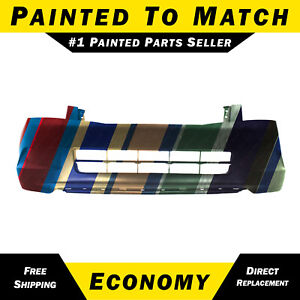 New Painted To Match Front Bumper Cover For 2008 2010 Honda Accord Sedan 4 Cyl