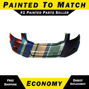 New Painted To Match Front Bumper Cover For 2011 2012 Honda Accord Sedan 6 Cyl