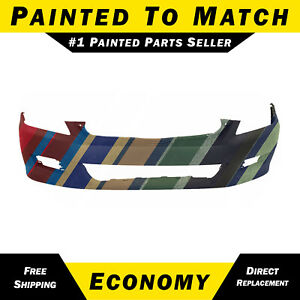 New Painted To Match Front Bumper Cover For 2006 2007 Honda Accord Coupe 2 Door