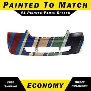 New Painted To Match Front Bumper Cover For 2006 2008 Chevrolet Chevy Malibu
