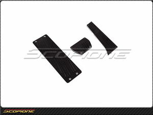 Scopione 00 13 Bmw X5 E53 E70 Black line Carbon Fiber A t Pedal Set
