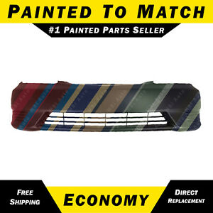 New Painted To Match Front Bumper Cover For 2005 2006 Toyota Camry Without Fog