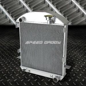 For 1917 23 Ford Model T W Chevy Engine 3 Row 17 Tri Core Aluminum Radiator