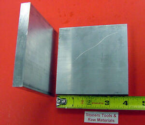 2 Pieces 1 2 X 4 Aluminum 6061 T6511 Solid Flat Bar 4 Long Plate Mill Stock