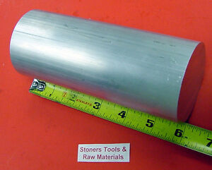 2 1 2 Aluminum Round 6061 T6511 Solid Rod 6 Long Extruded Lathe Bar Stock