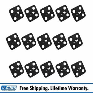 15 Pc Hood Insulation Clip Set Kit For 64 72 Gm Cars