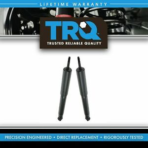 Trq Rear Shock Absorbers Driver Passenger Pair Set For 94 04 Ford Mustang