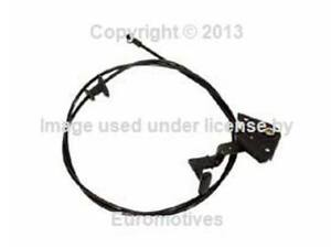 Audi A4 S4 96 02 Hood Release Cable Genuine Vag Front Engine Lid Bowden