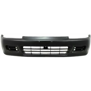Front Bumper Cover For 1992 1995 Honda Civic Coupe And Hatchback 71101sr0a00zz