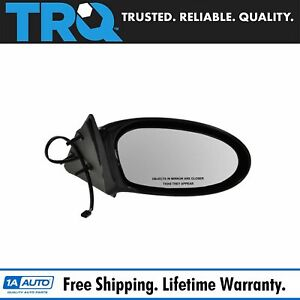 Power Black Fixed Mirror Passenger Side Right Hand Rh For 99 04 Olds Alero