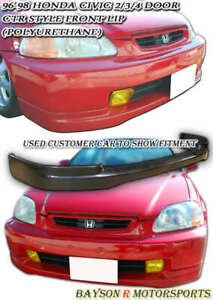 F sport Style Front Lip urethane Fits 09 10 Lexus Is250 is350 4dr