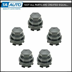 Dorman Wheel Lug Nut Cap Black Kit Of 5 For Chevy Gmc Tahoe Suburban Avalanche