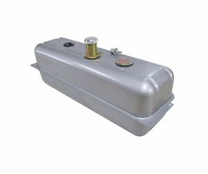 New Universal 18 Gallon Steel Gas Fuel Tank With Billet Cap Neck Tanks Inc