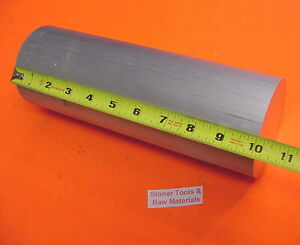 3 Aluminum 6061 T6511 Round Solid Rod 10 Long Lathe Bar Stock 3 00 Diameter
