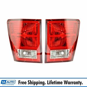 Taillight Taillamp Pair For Jeep Grand Cherokee 07 08 09 10