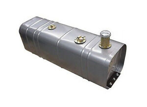 Universal Gas Fuel Tank With 3 Threaded Neck Billet Cap Fuel Injection Tray