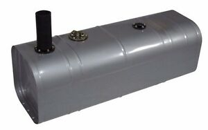 Street Rat Rod Universal Gas Fuel Tank With 2 Neck Hose U3 Gh 16 Gallon