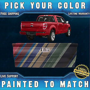 New Painted To Match Rear Tailgate For 2009 2014 Ford F150 Truck With Int Step
