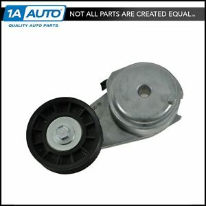 Serpentine Belt Tensioner With Pulley Wheel For Buick Chevy Pontiac Saturn