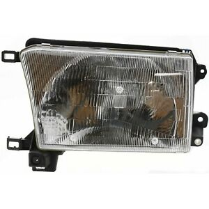 Headlight Headlamp Driver Side Left Lh New For 96 98 Toyota 4runner