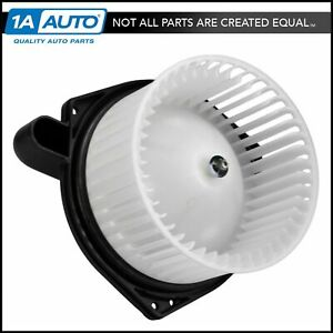 Heater Blower Motor With Fan Cage For Chevy Colorado Gmc Canyon Isuzu New