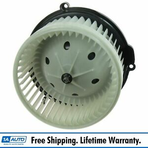 Heater A c Ac Blower Motor W Fan Cage For Equinox Terrain Torrent Vue Suv