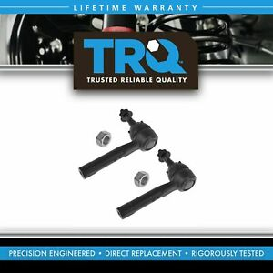 Front Outer Tie Rod End Set Pair Lh Rh For Venture Montana Impala Grand Prix