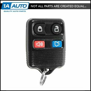 Dorman 4 Button Keyless Entry Remote Transmitter For Ford Lincoln Mercury