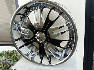 22 Inch Dvinci Vento Wheels Rims tires Fit Chevy Ford Truck Or Suv 6x135 139