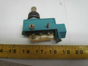 Microswitch Dte6 2rn80 Limit Switch Roller Plunger