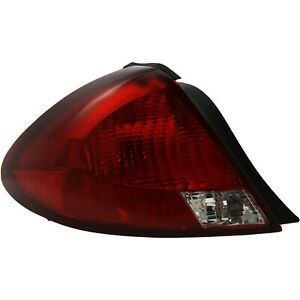 Tail Light For 2000 2003 Ford Taurus Lx Sedan Lh Clear Red Lens