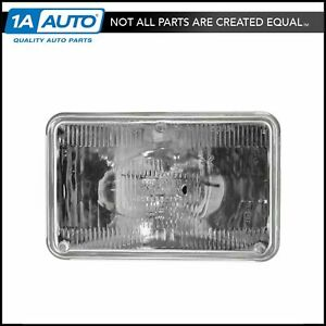 Halogen Sealed Beam Headlight Headlamp Multifit 6 1 2 By 4 1 4 New