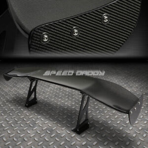 Nrg Carbon Fiber Gt Style 69 Jdm Racing Rear back Trunk Spoiler wing brackets