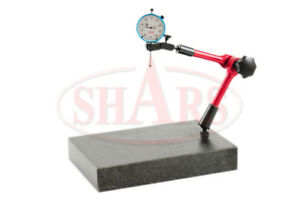 Shars 12 X 8 X 2 Granite Check Stand 15 Flexible Arm 1 Indicator New