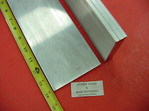 4 Pieces 1 4 X 4 Aluminum 6061 T6511 Solid Flat Bar 14 Long 250 Plate Stock