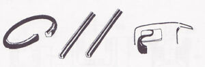 Ford 3w 5w Coupe Back Roll Down Window Channel Kit 1930 1934