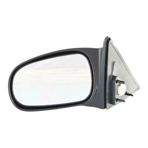 Power Mirror For 1996 2000 Honda Civic Sedan Driver Side Textured Black