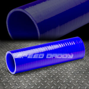 2 5 X 8 Inch 3 ply Turbo intake intercooler Piping Silicone Coupler Hose Blue