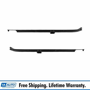 Window Sweep Outer Weatherstrip Front Pair Set For Chevy Impala Caprice 4 Door