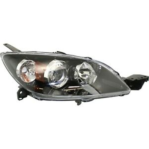Headlight For 2004 2006 2007 2008 2009 Mazda 3 Hatchback Right