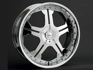 22 Dvinci Dv50 Chrome Wheels Tires Fit 300 Charger Challenger Bmw Staggered
