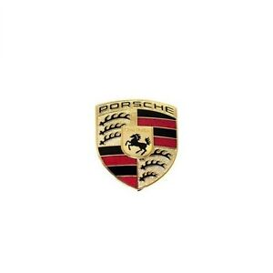 For Porsche 911 Boxster Cayenne Cayman Hood Emblem Crest Badge Logo Sign Genuine