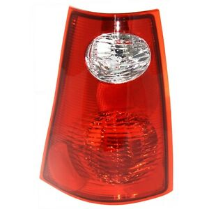 Tail Light For 2001 2005 Ford Explorer Sport Trac Driver Side