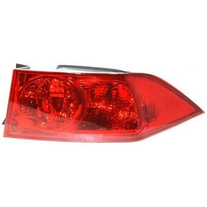 Tail Light For 2004 2005 Acura Tsx Rh Outer