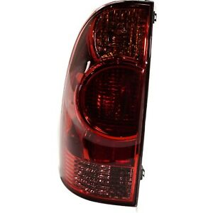 Tail Light For 2005 2008 Toyota Tacoma 2010 2015 Tacoma Driver Side